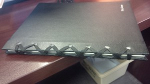 shoestring binding