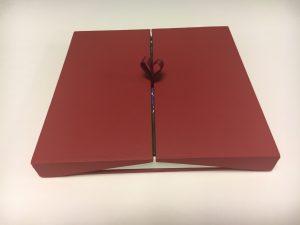 A gift book in a pretty box